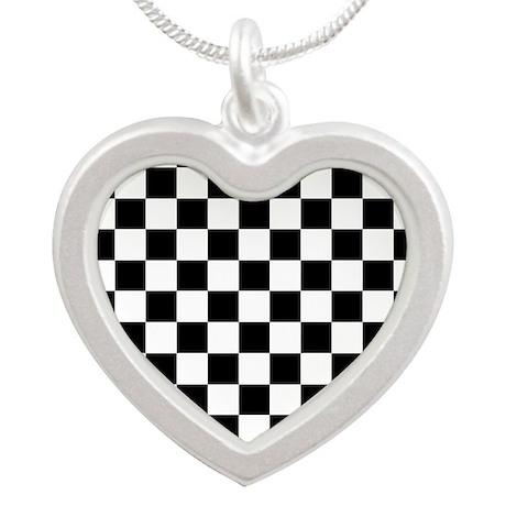 Checker Flag Race Necklaces