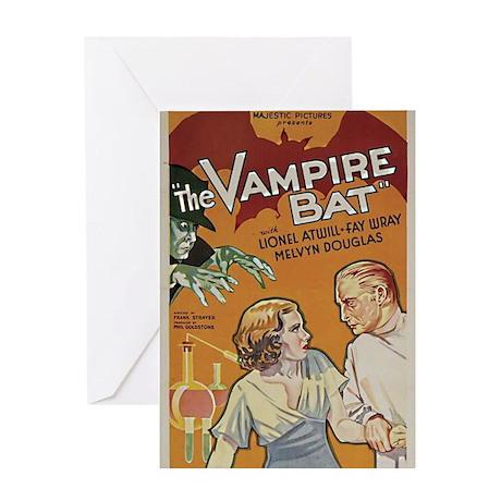 The Vampire Bat Greeting Card