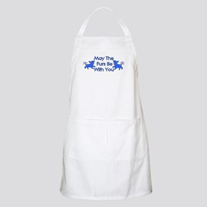 May The Furs Be With You BBQ Apron