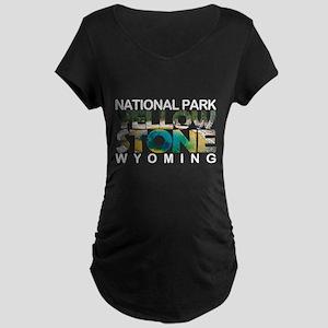 Yellowstone - Wyoming, Montana, Maternity T-Shirt