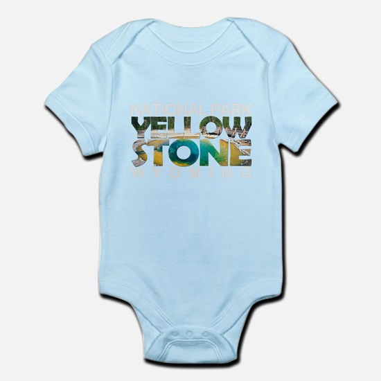 Yellowstone - Wyoming, Montana, Idaho Body Suit