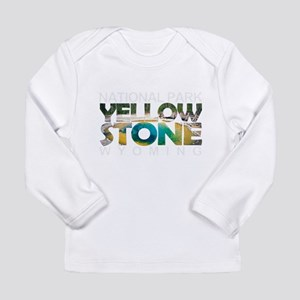 Yellowstone - Wyoming, Montana Long Sleeve T-Shirt