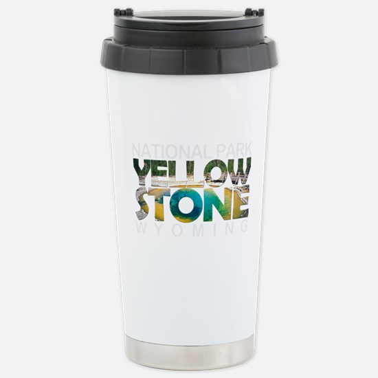 Yellowstone - Wyoming, Stainless Steel Travel Mug