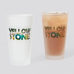 Yellowstone - Wyoming, Montana, Ida Drinking Glass