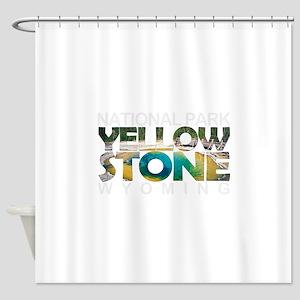 Yellowstone - Wyoming, Montana, Ida Shower Curtain