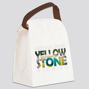 Yellowstone - Wyoming, Montana, I Canvas Lunch Bag