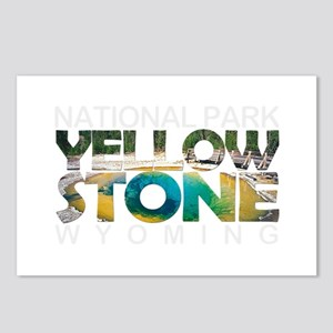Yellowstone - Wyoming, Mo Postcards (Package of 8)