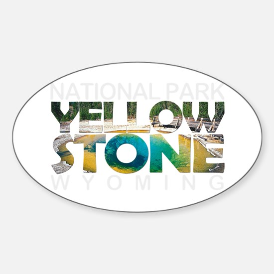 Yellowstone - Wyoming, Montana, Idaho Decal
