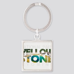 Yellowstone - Wyoming, Montana, Idaho Keychains