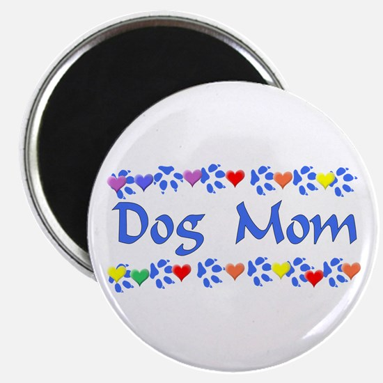 "Dog Mom 2.25"" Magnet (10 pack)"