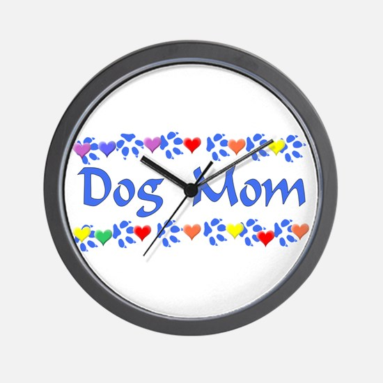 Dog Mom Wall Clock