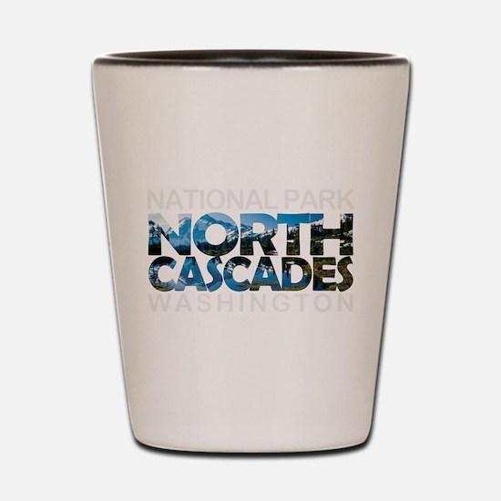 North Cascades - Washington Shot Glass