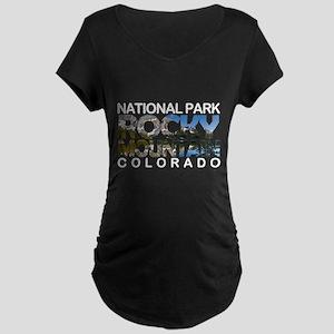 Rocky Mountain - Colorado Maternity T-Shirt