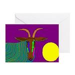 Antelope Greeting Cards (Pk of 10)