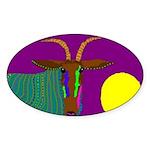Antelope Oval Sticker