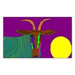 Antelope Rectangle Sticker