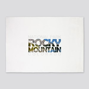 Rocky Mountain - Colorado 5'x7'Area Rug
