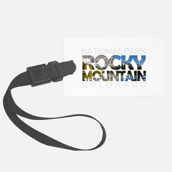 Rocky Mountain - Colorado Luggage Tag
