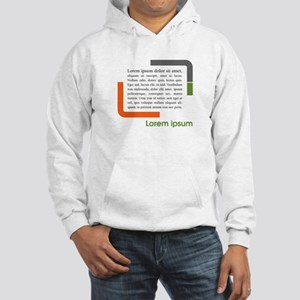 Lorem Ipsum Hooded Sweatshirt