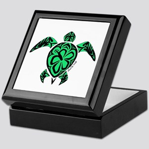Tribal Turtle Keepsake Box