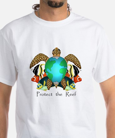 Save the Reef White T-Shirt