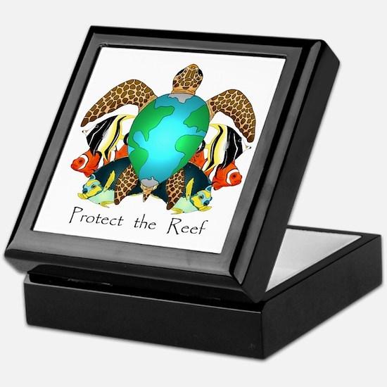Save the Reef Keepsake Box