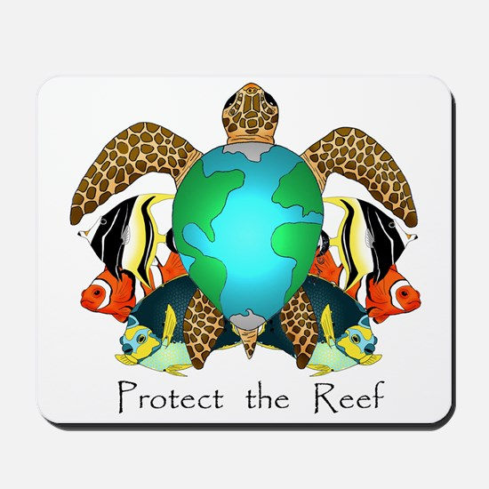 Save the Reef Mousepad