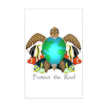 Save the Reef Mini Poster Print