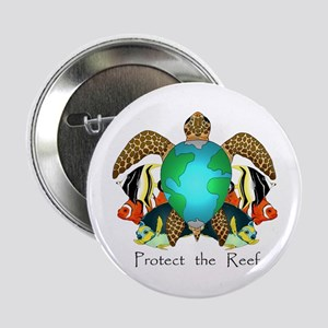 "Save the Reef 2.25"" Button"