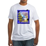 Let Our River Flow! Fitted T-Shirt