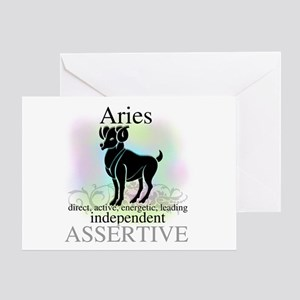 Aries the Ram Greeting Card