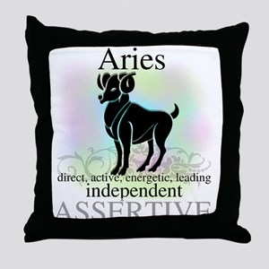 Aries the Ram Throw Pillow