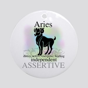 Aries the Ram Ornament (Round)