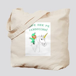 Ride me Hornycorn! (FM GOAL USA) Tote Bag