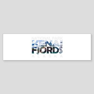 Kenai Fjords - Alaska Bumper Sticker
