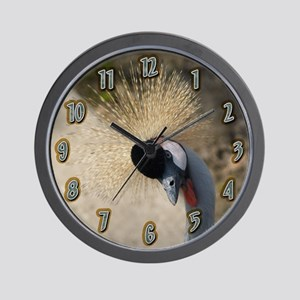 Royal Crane Wall Clock