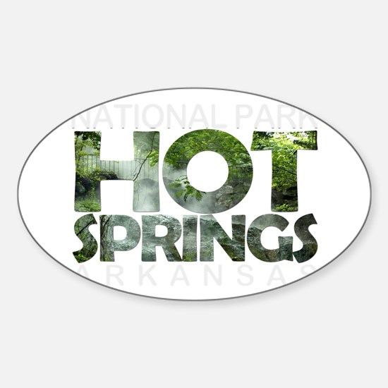 Hot Springs - Arkansas Decal