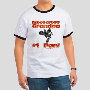 """""""Motocross Grandpa"""" Ringer T"""