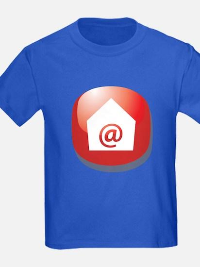E Mail Addict Button T