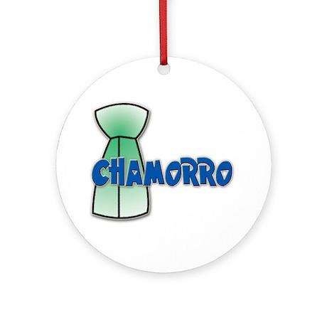 Chamorro Ornament (Round)