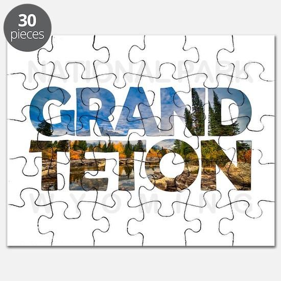 Grand Teton - Wyoming Puzzle