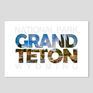 Grand Teton - Wyoming Postcards (Package of 8)