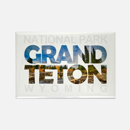 Grand Teton - Wyoming Magnets