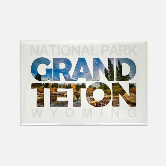 Grand Teton - Wyoming Magnets