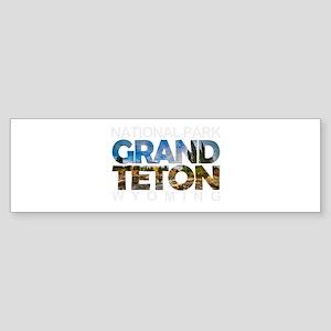 Grand Teton - Wyoming Bumper Sticker