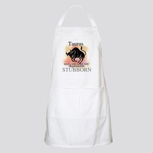 Taurus the Bull BBQ Apron