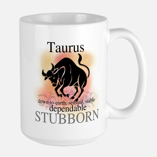 Taurus the Bull Large Mug