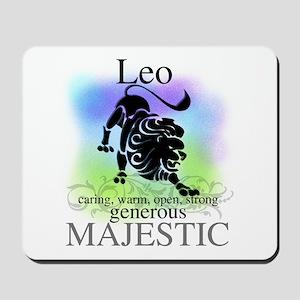 Leo the Lion Zodiac Mousepad