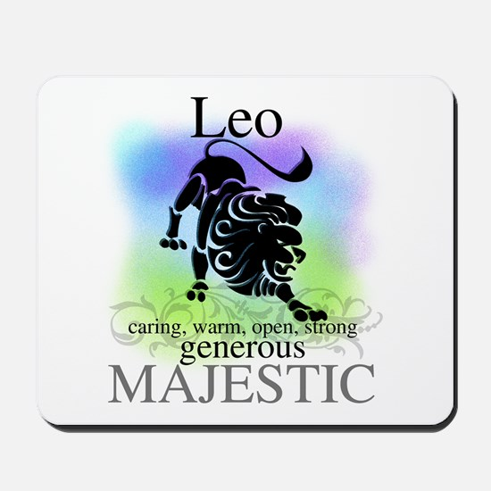 Leo the Lion Zodiac Mousepad