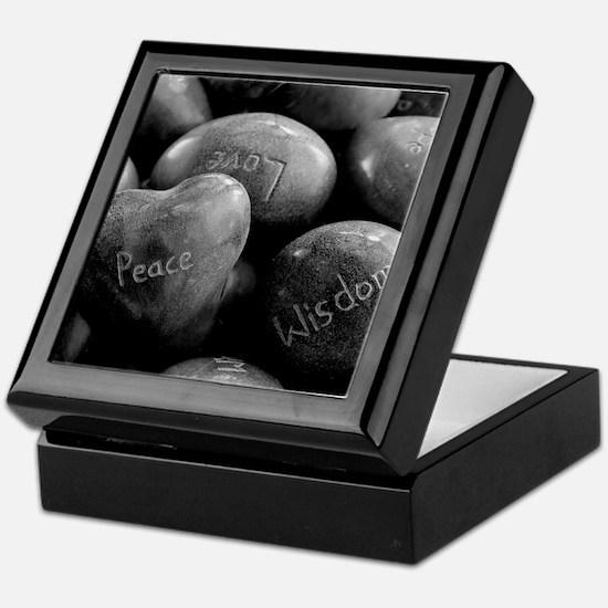 Peace, Love, Wisdom Keepsake Box